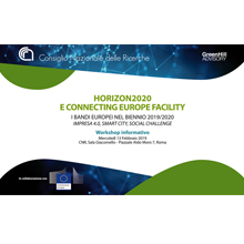 Workshop informativo su Horizon 2020 e CEF al CNR